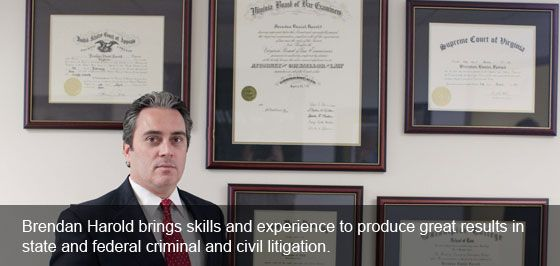 Brendan Harold brings skills and experience to produce great results in state and federal criminal and civil litigation.